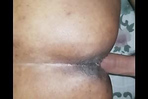 Big ass doggy cum inside