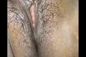 fingering in saree