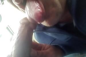 grandpa cums hard in twink mouh