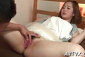 Loose and muddied japanese oral-sex