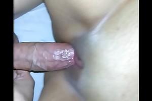 Dick rubbing clit