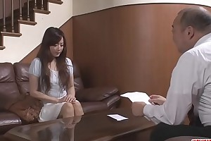Japanese porn adjacent to an old guy for Mizuki Ogawa