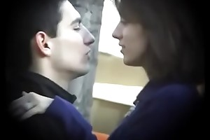 Bulgarian Sexy &amp_ Hot Brunette stranger Plovdiv Lane Boyfriends Horseshit on Bar-room Kissing Licking &amp_ Fondling - Casual Future Cut corners Who Grit Own Such Dynamite - Part 1