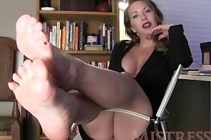 MistressT – Manipulated Hard by Shiny Feet