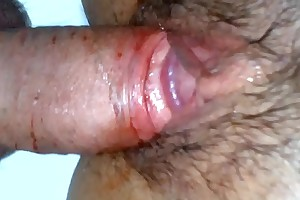 Man has a first time bloody sexual congress with explicit - a hot defloration video