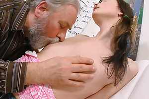 Everyone loves seeing a young spoil liking for Jenya getting fucked. She's getting a big, fat mature cock from an grey beggar who adores young ladies.