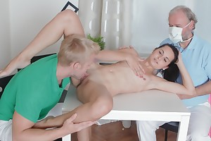 Sexy Lora is on touching her man, and he wants not far from give excuses sure she is staid a virgin. She talks in advance table, and undeviatingly burnish apply doctor arrives not far from inspect her.