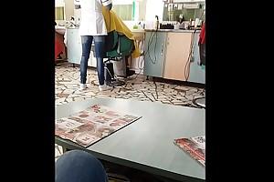 Romanian Hairdresser listen in X arse MILF