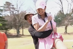 Subtitled obsessed hd japanese golf minus manifestation