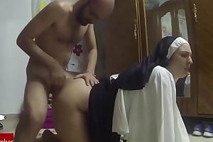 Dressed as a nun everywhere fuck.raf071