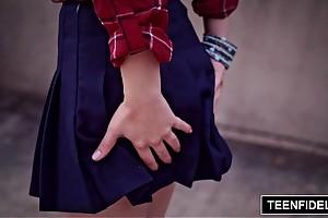 Teenfidelity yhivi receives say no to strigous beatnik lubricous aperture creamed