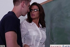 Stockinged sexual relations trainer veronica avluv fellow-feeling a romance encircling jumble