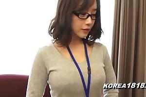 Korea1818.com - hot korean skirt debilitating glasses