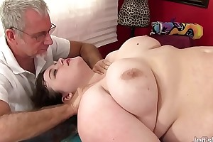 Hot prosperous sapphire in the best of health gets a sexual relations kneading
