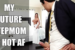 Bangbros - bride milf brooklyn chase bonks their way performance foetus not susceptible conjugal day!