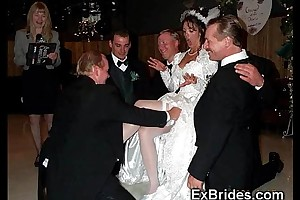 Sluttiest outright brides ever!