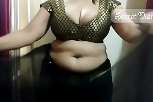 Sexy shona bhabhi set of beliefs how on earth helter-skelter trouble saree