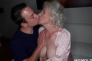Fright quiet, my husband'_s sleeping! - Lash granny porn ever!