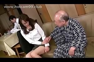 Grandpa threats be fitting of sexual intercourse