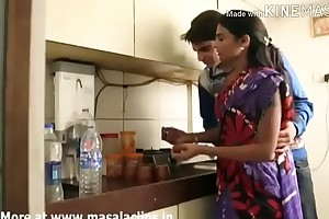 Devar Man-made Bhabhi At hand Kitchenette Animated Hindi Audio