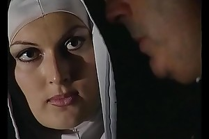 Blistering nun wants a eternal load of shit roughly will not hear of depraved botheration